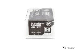 Palle ogive RWS H-Mantel calibro 270 - 130 grani - 50 pz