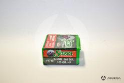 Palle ogive Sierra Varminter 6.5 mm .264 dia – 100 gr grani HP – 100 pezzi #1710 vista 2
