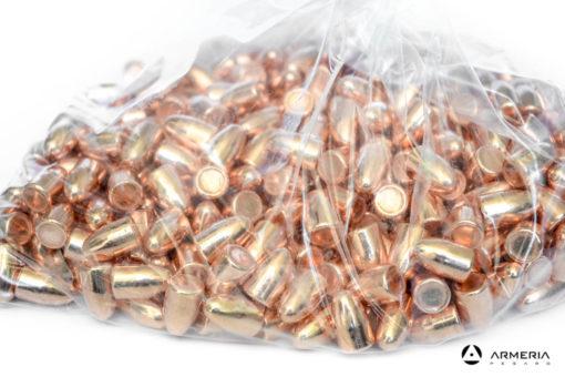 Palle ogive ramate Fiocchi calibro 9mm RNCP 123 grani -500 pz