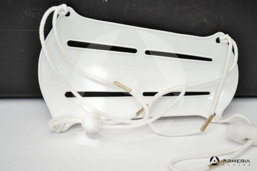 Parabraccio Exe in plastica bianco retro