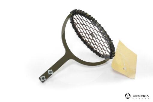 Piattellino in ferro per racchetta stantuffo lato