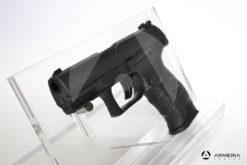 Pistola Walther PPQ T4E calibro 43 ad aria compressa di libera vendita mirino