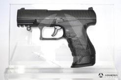 Pistola Walther PPQ T4E calibro 43 ad aria compressa di libera vendita lato