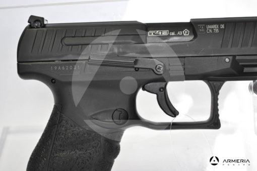 Pistola Walther PPQ T4E calibro 43 ad aria compressa di libera vendita modello