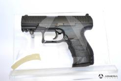 Pistola Walther PPQ calibro 4,5 ad aria compressa di libera vendita lato