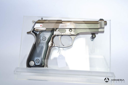 """Pistola semiautomatica Beretta modello Billennium serie limitata calibro 9x21 canna 5"""" Comune calcio lato"""