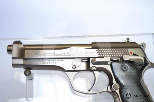"""Pistola semiautomatica Beretta modello Billennium serie limitata calibro 9x21 canna 5"""" Comune calcio macro"""