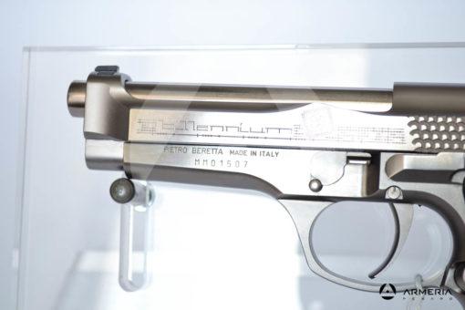 """Pistola semiautomatica Beretta modello Billennium serie limitata calibro 9x21 canna 5"""" Comune calcio limited"""