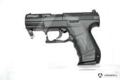 Pistola semiautomatica CO2 Walther modello CP99 calibro 4.5 black