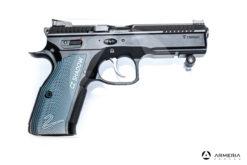 "Pistola semiautomatica CZ modello 75 Shadow 2 calibro 9x21 canna 5"" Sportiva"