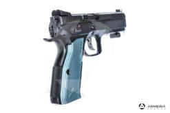 "Pistola semiautomatica CZ modello 75 Shadow 2 calibro 9x21 canna 5"" Sportiva calcio"