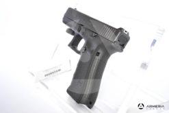 Pistola semiautomatica Glock modello 17FS Gem 4 calibro 9x21 con 2 caricatori canna 5 Sportiva calcio retro