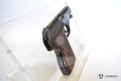 """Pistola semiautomatica Mauser modello HSC calibro 7,65 Browning con 2 caricatori canna 3"""" Usata calcio"""