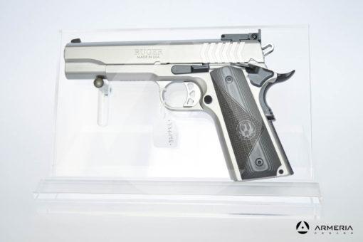 """Pistola semiautomatica Ruger modello SR1911 calibro 9x21 con 1 caricatore canna 5"""" Sportiva"""