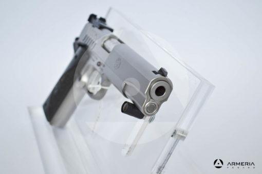 """Pistola semiautomatica Ruger modello SR1911 calibro 9x21 con 1 caricatore canna 5"""" Sportiva fronte"""