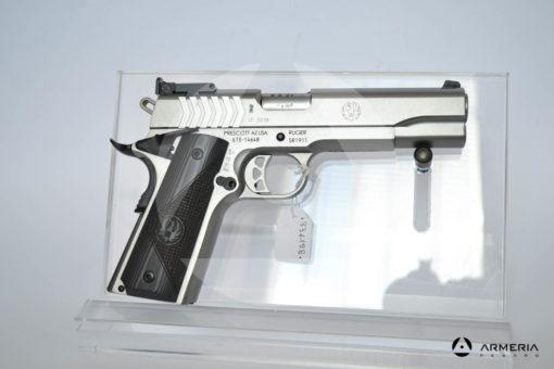 """Pistola semiautomatica Ruger modello SR1911 calibro 9x21 con 1 caricatore canna 5"""" Sportiva lato"""