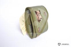 Porta cartucce munizioni Riserva equipaggiamento caccia cinghiale lato