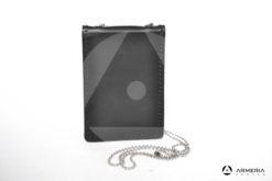 Porta placca porta tessera in pelle Vega Holster nero #1WL
