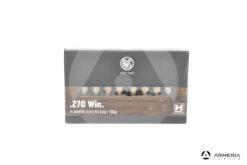 RWS H-Mantel Hunting calibro 270 Win 130 grani - 20 cartucce