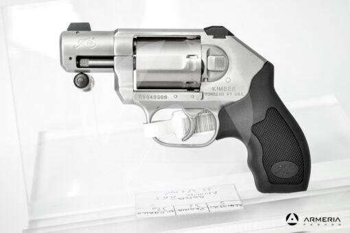 Revolver Kimber modello K6S canna 2 calibro 357 Magnum lato