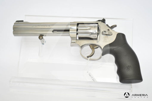 "Revolver Smith & Wesson modello 617 Inox canna 6"" calibro 22 LR lato"
