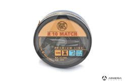 Scatola pallini RWS R 10 Match calibro 4.5 mm 177 - 7 grani 500 pezzi