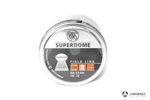 Scatola pallini RWS Superdome calibro 5.5mm 22 - 14.5 grani - 500 pezzi