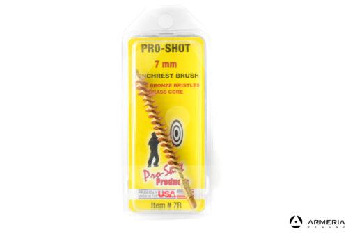 Scovolo in bronzo Pro Shot calibro 7mm Benchrest brush