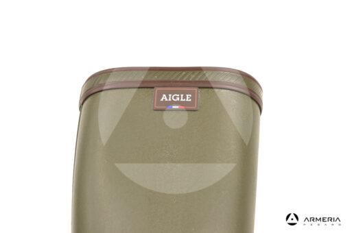 Stivale da caccia Aigle Parcours 2 Kaki logo France taglia 43 logo