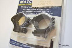 Supporti ad anello Hawke Match ring slitta 9-11 mm - 30 mm medium #HM6160 -1