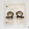 Supporti ad anello Hawke Precision steel ring mounts slitta Weaver - 1 inch medium -0