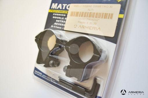 Supporti ad anello Hawke Sport optics Professional slitta 9-11 mm - 30 mm high #HM6162 -1