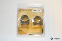 """Supporti ad anello Leupold PRW Precision Rings 1"""" low matte #54144-0"""
