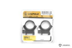Supporti ad anello Leupold QRW2 Precision fit slitta Weaver 30mm high matte #174078