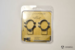 Supporti ad anello Leupold STD Standard Rings .650 low matte #49898-0