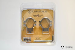 Supporti ad anello Leupold STD Standard Rings .900 high matte #49904-0