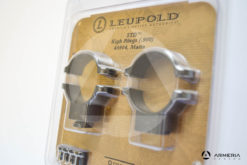 Supporti ad anello Leupold STD Standard Rings .900 high matte #49904-1