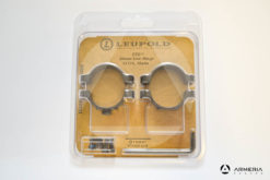 Supporti ad anello Leupold STD Standard Rings 30 mm low matte #51718-0