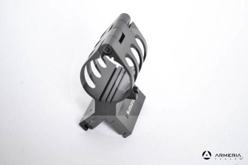 Supporto magnetico Led Lenser Magnetic mount per torcia MT10 e MT14 lato