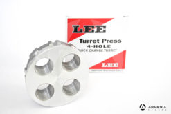 Torretta Lee Turret Press per pressa a 4 fori Quick Change Turret