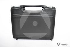 Valigetta porta pistola nera in plastica