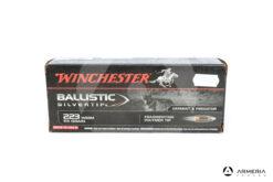 Winchester Ballistic SilverTip calibro 223 WSSM 55 grani - 20 cartucce