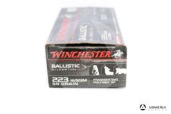 Winchester Ballistic SilverTip calibro 223 WSSM 55 grani 20 cartucce