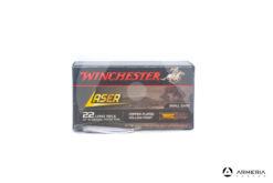 Winchester Laser calibro 22 LR Long Rifle - 37.5 grani - 50 cartucce