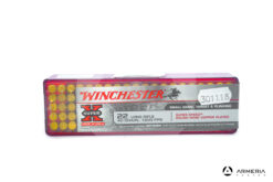 Winchester Super X calibro 22 LR Long Rifle Copper Plated - 40 grani - 100 cartucce