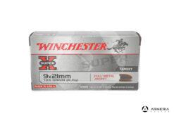 Winchester Super X calibro 9x21 - 124 grani - 50 cartucce