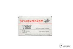 Winchester T22 calibro 22 LR Long Rifle - 40 grani - 50 cartucce