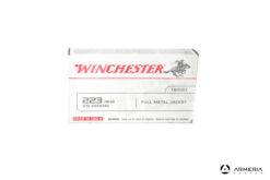 Winchester Target calibro 223 Rem 55 grani FMJ - 20 cartucce