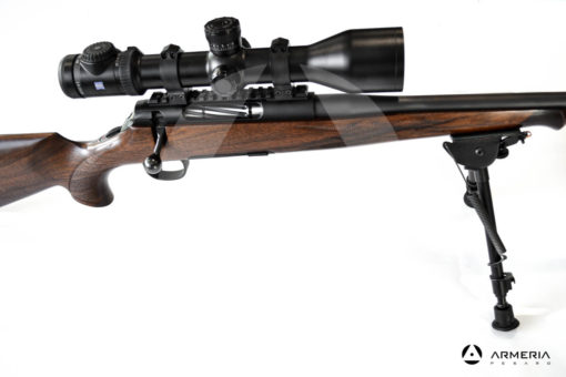 Carabina Bolt Action Roessler modello Titan 6 Exklusive calibro 7 Remington Magnum lato