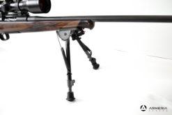 Carabina Bolt Action Roessler modello Titan 6 Exklusive calibro 7 Remington Magnum ottica lato